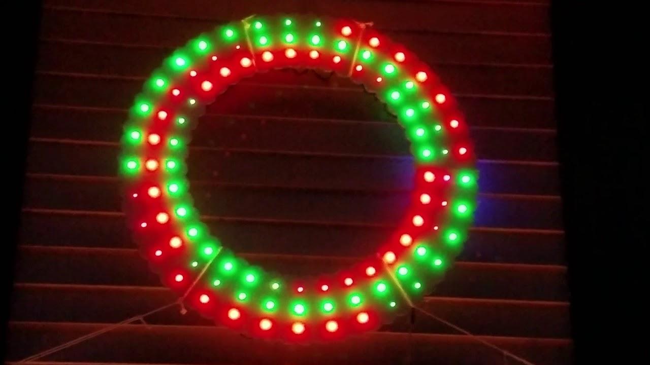 LED Christmas Wreath 2018 - FastLED / Arduino