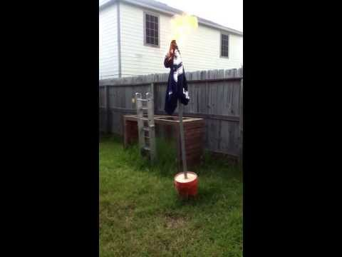 Lions fan burns cowboys shirt. After the win.
