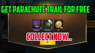 Get Parachute Trail and Crate Scraps Free | PUBG Mobile Tricks | Revengers