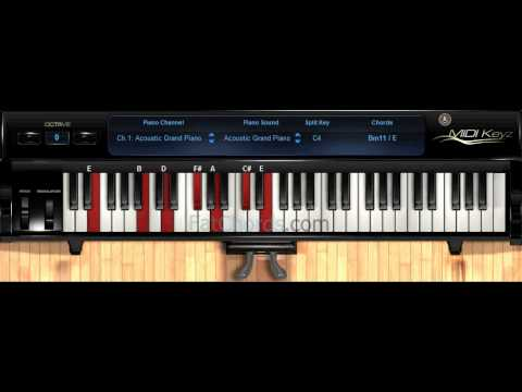 Fat Chords #45 - Piano Progression Voicings Phat Neo Soul Jazz Church