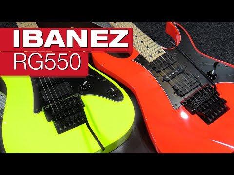 Ibanez RG550 E-Gitarren-Review von session