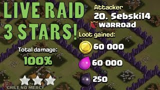 Clash of Clans | 3 Star GoHo | TH9 vs TH9 | Warroad Live Attack #1