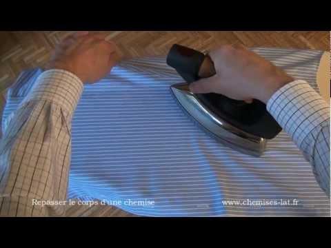comment bien repasser une chemise etape5 le corps youtube. Black Bedroom Furniture Sets. Home Design Ideas