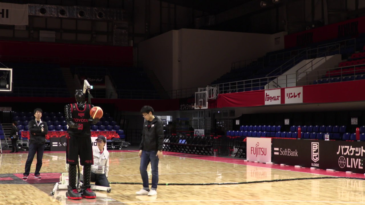 the development diary of cue the ai basketball robot corporate global newsroom toyota motor corporation official global website [ 1280 x 720 Pixel ]