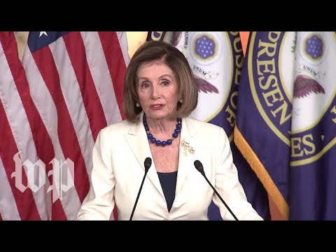 WATCH: Pelosi holds news conference after asking Congress to proceed with articles of impeachment