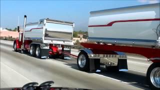 Wicked Chrome Peterbilt Dump Truck