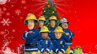 Neue Feuerwehrmann Sam Deutsch ❄️ Es ist Weihnachten am Bahnhof 🎄🌟 Weihnachtsspecial 🌟 Karikatur