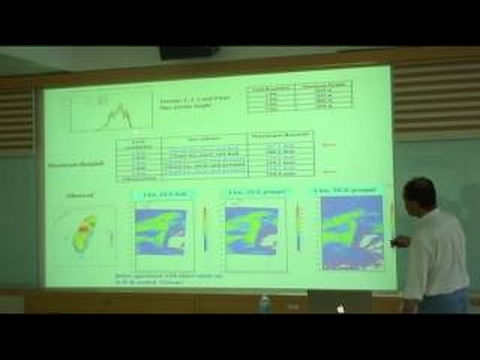 陶為國 Using Multi scale Modeling Systems to Study the Precipitation Processes
