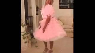 crossdressing Sissy dress up dressing like a little sissy princess girl in a dream