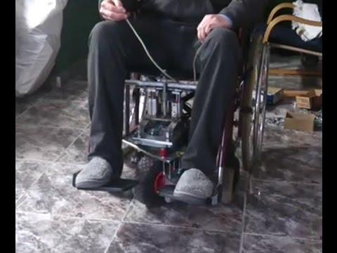 Motor para silla de ruedas manual youtube - Motor silla de ruedas ...
