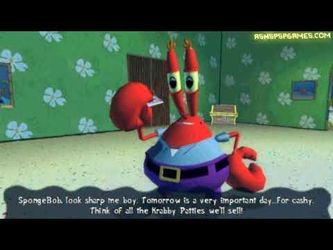Spongebob's: Truth Or Square - PSP - #00. Prologue