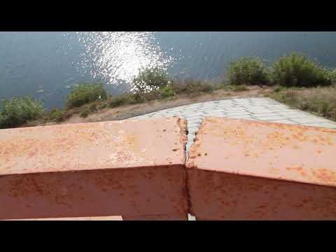 На Никольском мосту в Кинешме поплыли ограждения