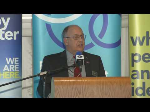 President Gary Kachanoski speaks to St. John's Board of Trade