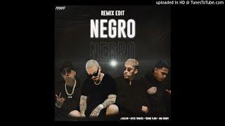 Negro (Remix Edit) - J Balvin, Myke Towers, Ñengo Flow, Bad Bunny