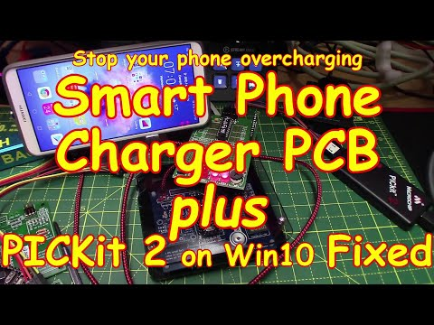 #193 Smart Phone Charger (done) & PICkit 2 & 3 Under Win10 - FIXED!