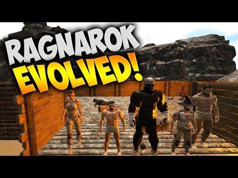 Ragnarok Evolved! Zueljin Killed Everything! - Ark Ragnarok DLC (Ark Survival Evolved Gameplay)