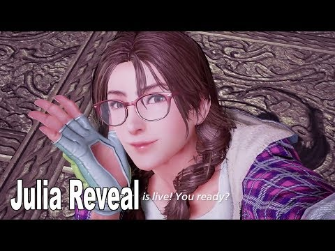 Tekken 7 - Julia Reveal Teaser [HD 1080P]