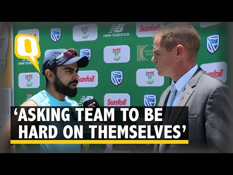 'Not Here to Comfort My Team,' Says Virat Kohli After Series Loss vs South Africa | The Quint