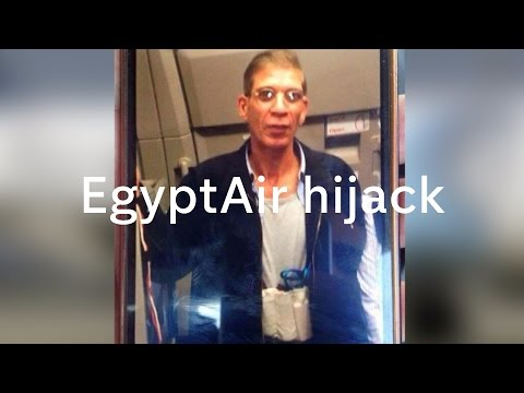 AirEgypt hijack: Egyptian man diverts plane to Cyprus