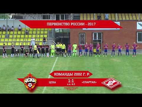 ЦСКА - Спартак (2002 г. р.) 1:1 (4:3 с.п.)