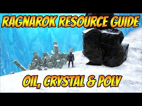 Ragnarok Resource Guide: Oil, Crystal & Polymer