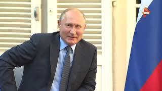 Как Макрон встретил Путина на Лазурном берегу