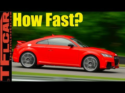How Fast is the New 400 HP Audi TT RS from 0-60 MPH?