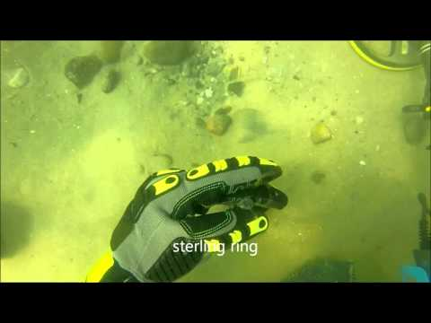Underwater Metal Detecting a Vintage Swim Beach