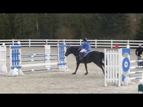 Lison Corbisier - Anabelle - 1m15 -  Royal Country Riding Club Overijse - 16/02/2014