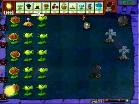Instant Plant Refill & Unlimited Sun Hack With Cheat Engine On Plants Vs Zombies