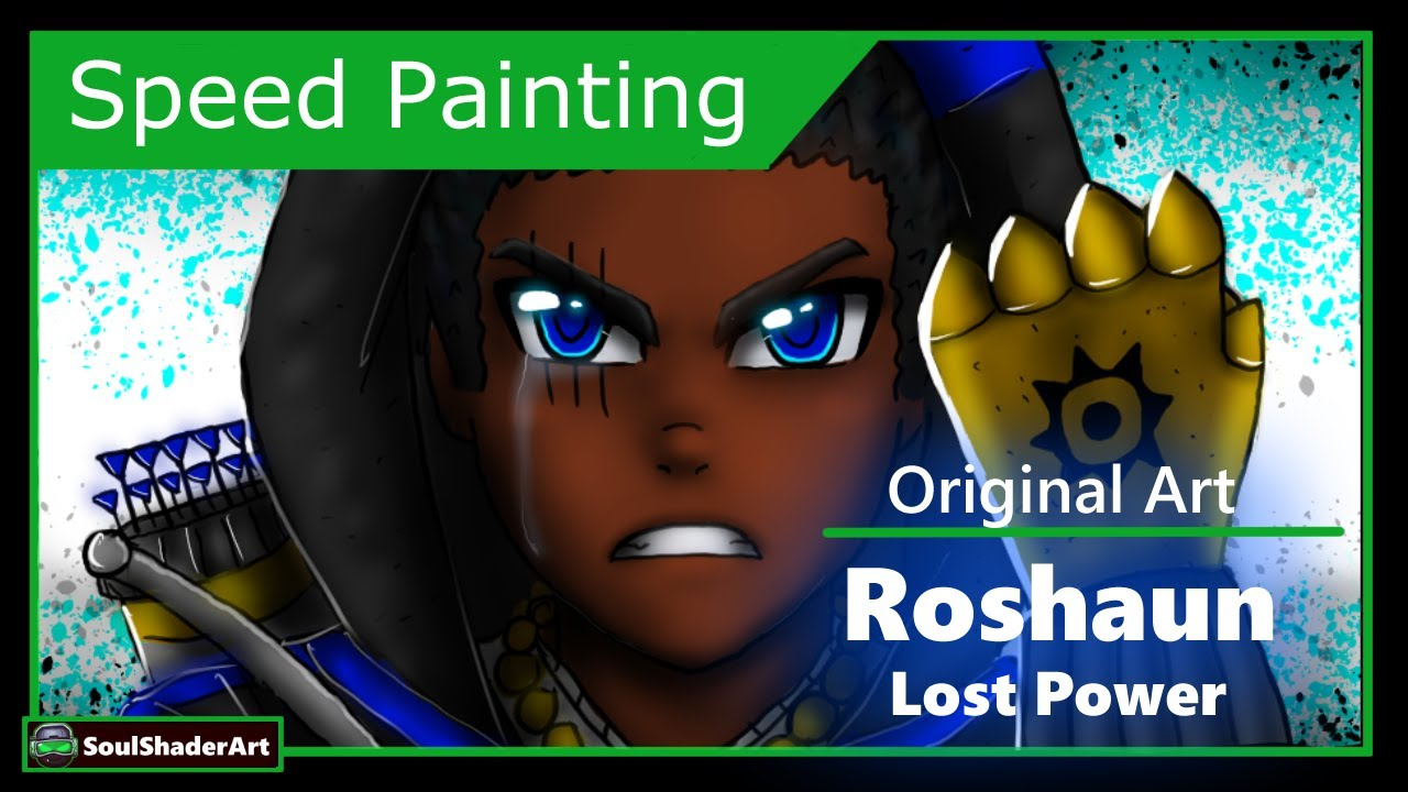 ❇️Roshaun Lost Power Speed Drawing