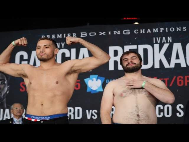 STEVEN TORRES VS DAKOTA WITKOPF Full Weigh-in