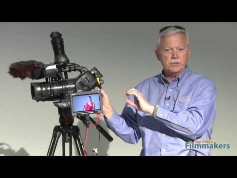 Video Village - Keeping an eye on the set HD