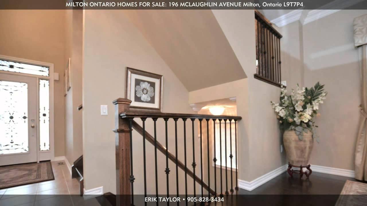 Milton ontario homes for sale 196 mclaughlin avenue for Milton home builders