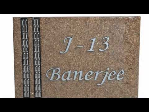 Designer Name Plate by Home SignsYouTube