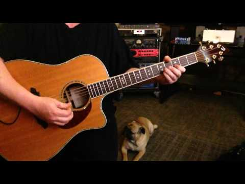 Video - Drivin\' Mine - Open G7sus Tuning - Key of C Natural Minor