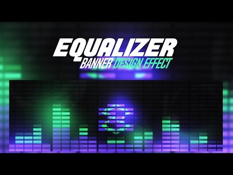 Photoshop Tutorial: Equalizer/Visualizer Effect Banner Design