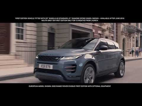 New 2020 Range Rover Evoque   Interactive Driver Display