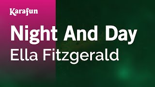 Karaoke Night And Day - Ella Fitzgerald *
