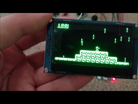 """Testing Arducart With BIG ICStation 2.42"""" OLED Screen"""