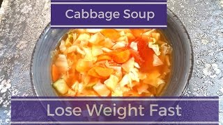 Lose weight fast with loss diet soup veg fat burning recipe | in urdu/hindi cabbage s...