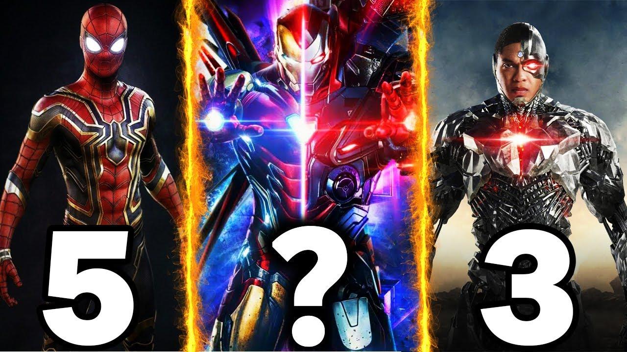 Top 10 Powerful Superhero Armors in MCU & DCEU | बताओ कौन जीतेगा | Who Will Win ?