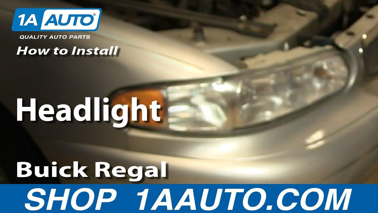 medium resolution of how to replace headlights 97 05 buick century