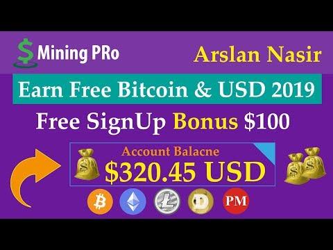 UsdMining Pro | Earn Free Bitcoin & USD 2019 | Free Signup Bonus