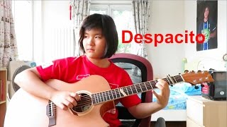 Video Despacito - Luis Fonsi, Daddy Yankee ft. Justin Bieber (fingerstyle guitar cover) free tabs download MP3, 3GP, MP4, WEBM, AVI, FLV Juli 2018