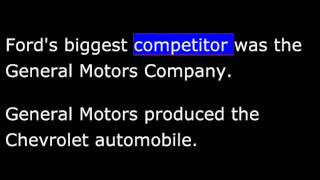 Biography - FH - Henry Ford - Part 2 of 2 - Automotive Pioneer