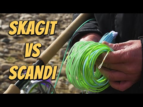Skagit vs Scandi Lines explained by Tom Larimer - Spey Casting Basics