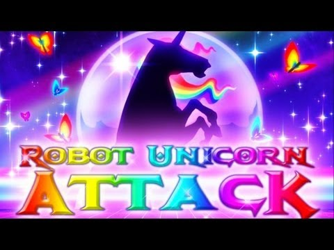ROBOT UNICORN ATTACK (Brad Unleashed)