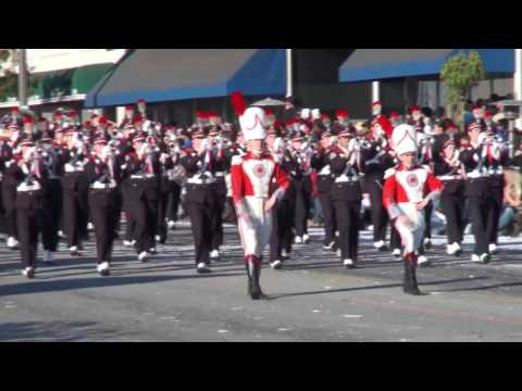 Ohio State University Marching Band - The Stars and Stripes Forever -  2010 Pasadena Rose Parade