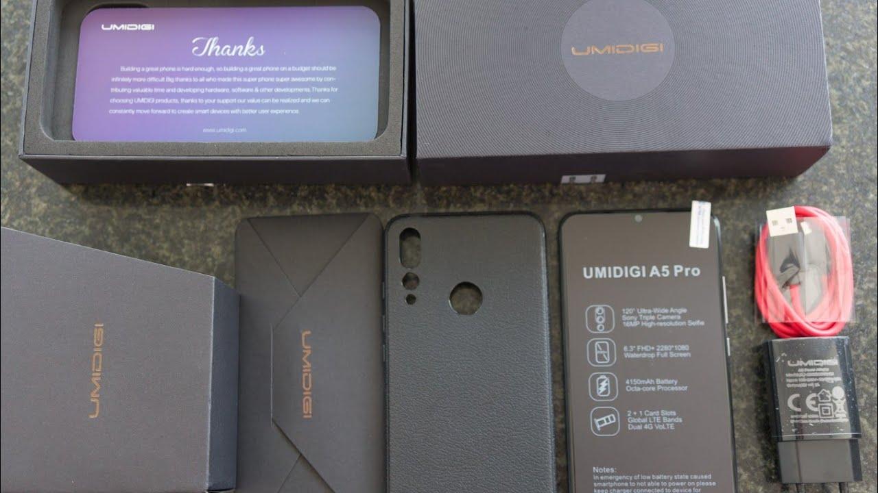 Umidigi A5 Pro Unboxing